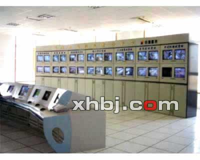 兰海路监控中心电视墙