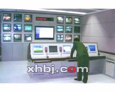 福州武警某部指挥中心电视墙