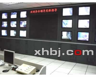 公安指挥中心电视墙