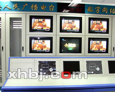 监狱监控中心电视墙