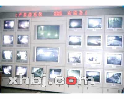 焦化厂监控中心电视墙