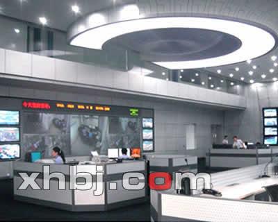 杭州公安局监控中心电视墙