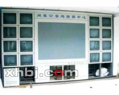 广州公安监控中心电视墙