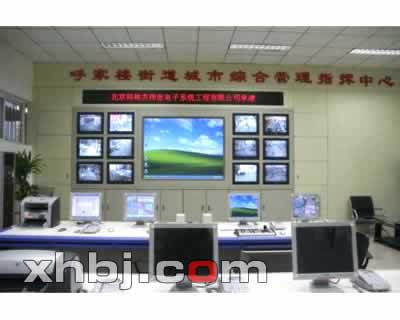 煤矿监控调度中心电视墙