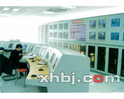 太原榆次火车站监控中心操作台