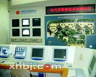 北京方庄芳群小区监控中心操作台