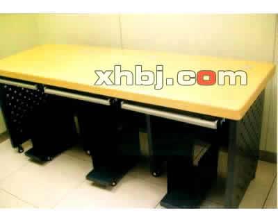 豪华木面操作桌操作台
