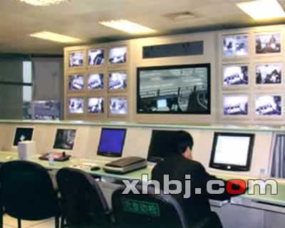 北京边检监控中心操作台