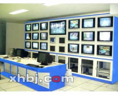 国家商务部监控室操作台