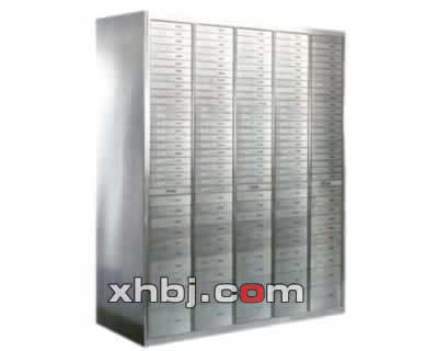 不锈钢整体柱式保管箱