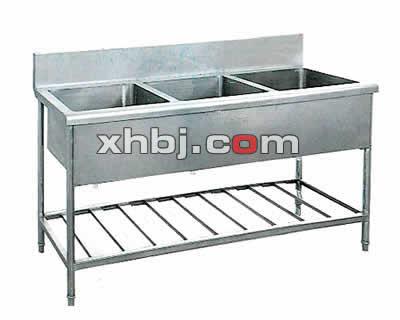 不锈钢三槽水池