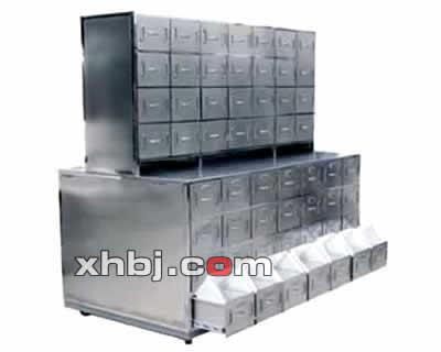 不锈钢台式中药柜