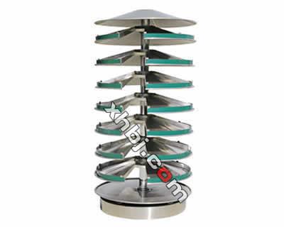 不锈钢调剂塔八层