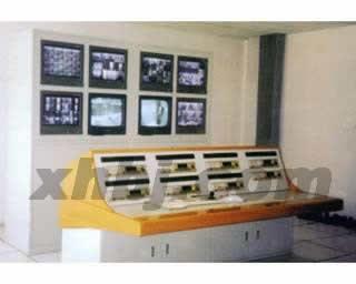 工地监视机房控制台