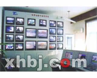 收费站电视墙