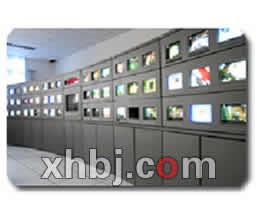 左右弧形电视墙