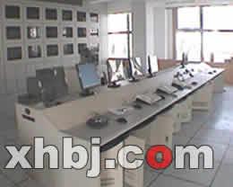 公安局监控室电视墙