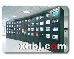 弧型电视墙