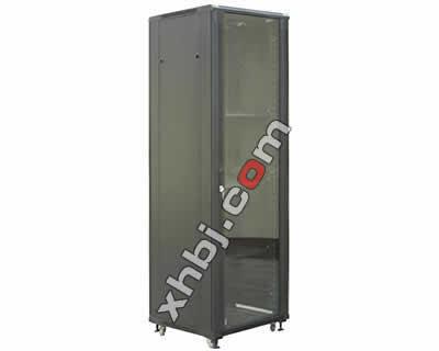 钢化玻璃门机柜