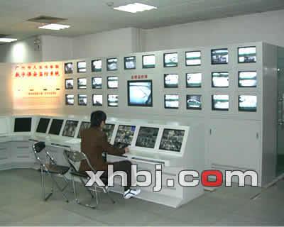 监控台电视墙一体