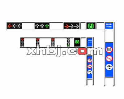 框架式信号灯