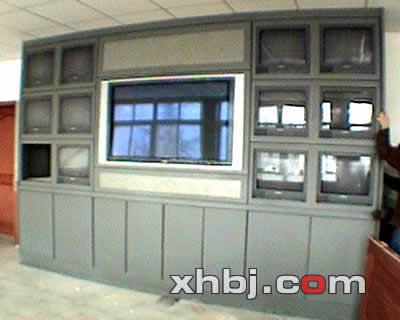 天津武警部队电视墙