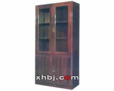 木纹整体双门书柜