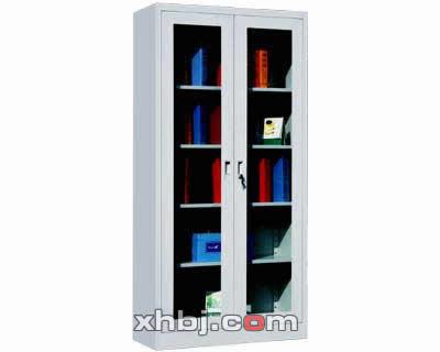 双门玻璃文件柜