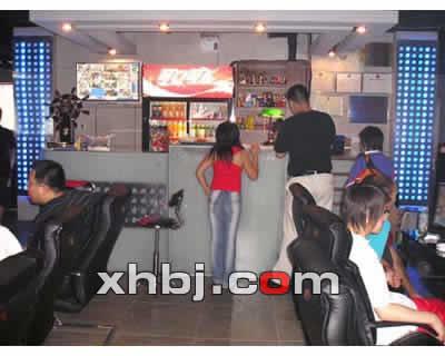 香港网吧桌