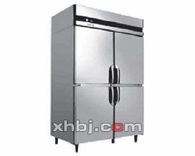 立式双门制冷柜