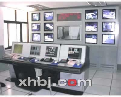 军博博物馆监控中心操作台