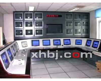 海淀区政府监控中心操作台